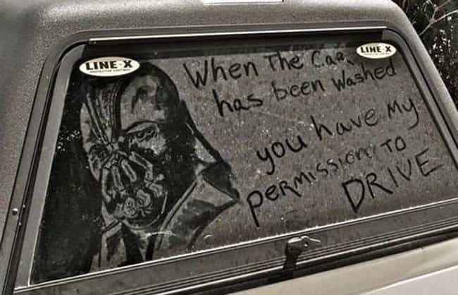 When Gotham Is in Ashes ... is listed (or ranked) 3 on the list The Funniest Things Ever Drawn on Dirty Cars