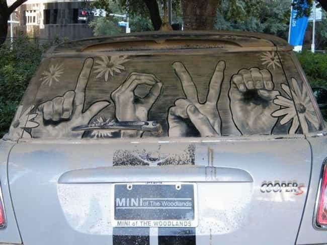 Spreading the Love: Nail... is listed (or ranked) 7 on the list The Funniest Things Ever Drawn on Dirty Cars