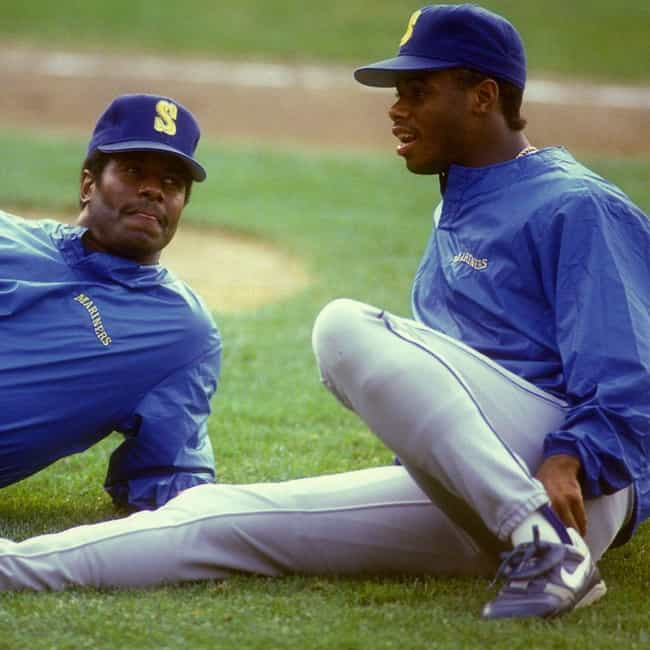 Ken Griffey Sr. and Ken Griffe... is listed (or ranked) 2 on the list Professional Athlete Father and Son Dynasties