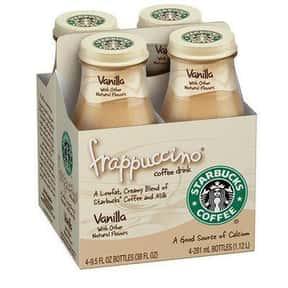 Starbucks Bottled Vanilla Frap is listed (or ranked) 1 on the list The Best Starbucks Bottled Drink Flavors