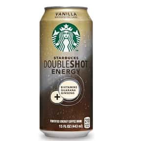 Starbucks Doubleshot Energy Va is listed (or ranked) 11 on the list The Best Starbucks Bottled Drink Flavors