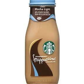 Starbucks Bottled Mocha Light  is listed (or ranked) 13 on the list The Best Starbucks Bottled Drink Flavors