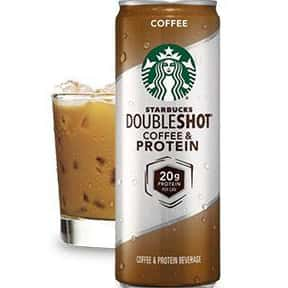 Starbucks Doubleshot Protein C is listed (or ranked) 21 on the list The Best Starbucks Bottled Drink Flavors