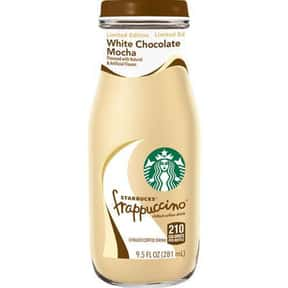 Starbucks Bottled White Chocol is listed (or ranked) 4 on the list The Best Starbucks Bottled Drink Flavors