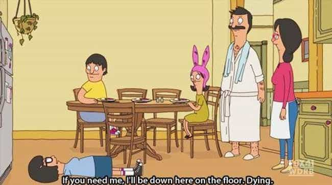 She Accurately Sums Up Being a... is listed (or ranked) 1 on the list 22 Obvious Reasons Tina Is the Best Part of Bob's Burgers