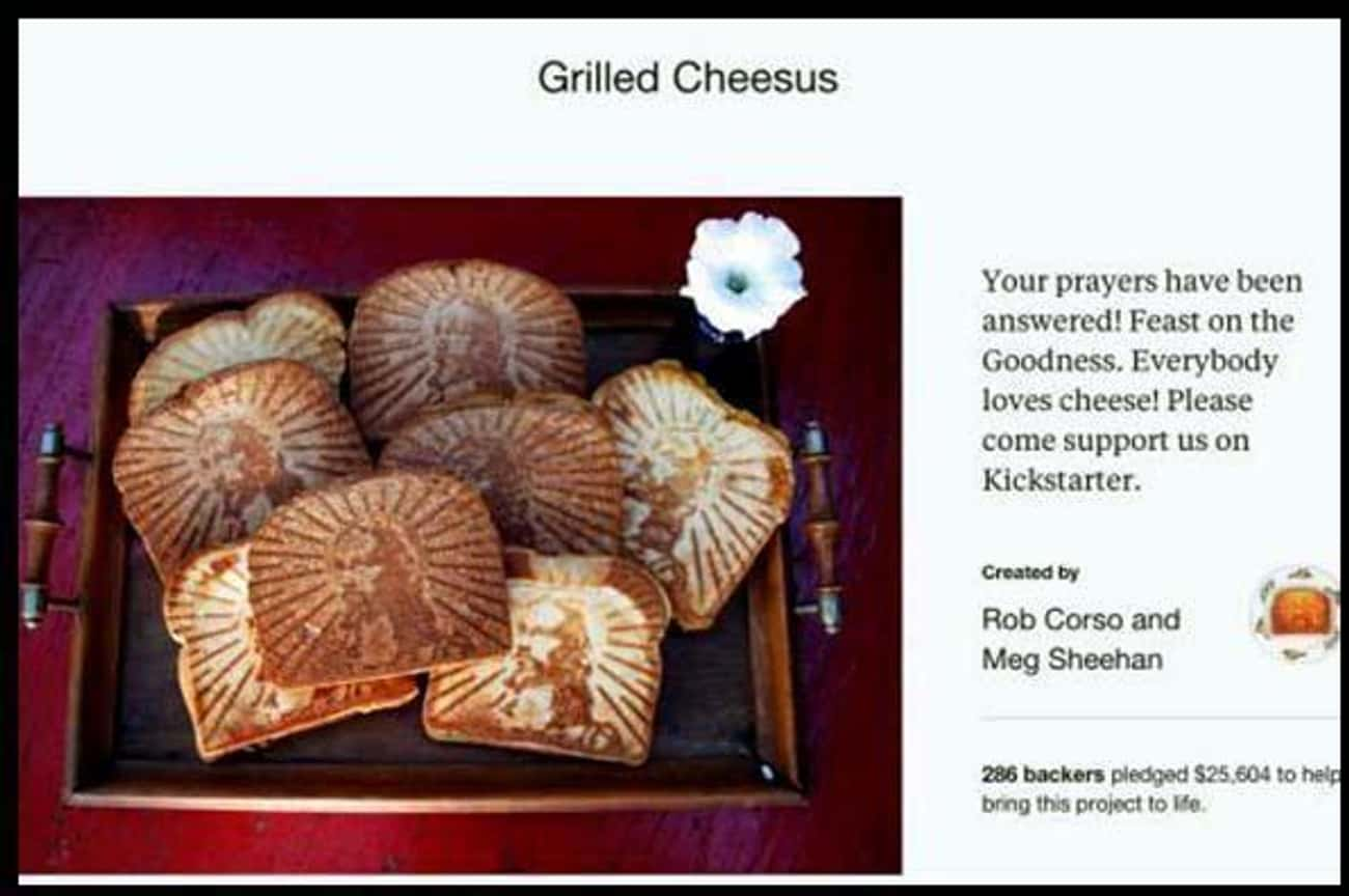 Oh Cheesus Christ! is listed (or ranked) 4 on the list 25 Funny Kickstarter Campaigns That Should've Been Funded