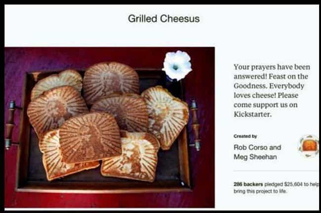 Oh Cheesus Christ! is listed (or ranked) 3 on the list 25 Funny Kickstarter Campaigns That Should've Been Funded