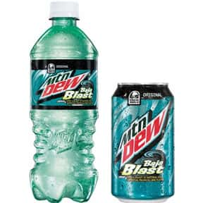 Mountain Dew Baja Blast is listed (or ranked) 1 on the list The Best Mountain Dew Flavors