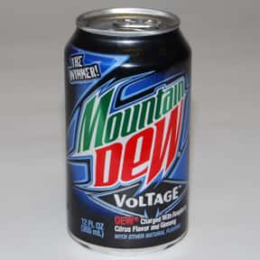 Mountain Dew Voltage is listed (or ranked) 2 on the list The Best Mountain Dew Flavors