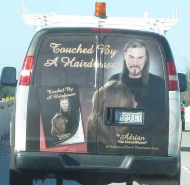 Let's Get out of Hair is listed (or ranked) 1 on the list Photos of Extremely Sketchy Vans You Should Stay Away From