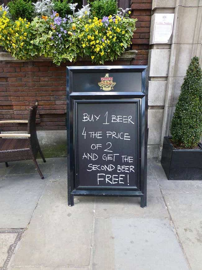 Taking Stealth to a Whole New ... is listed (or ranked) 4 on the list 28 Hilarious Signs Propped Up Outside Of Bars