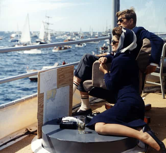 John and Jackie Kennedy ... is listed (or ranked) 4 on the list Why People Believe In The