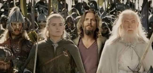 The Fellowship of the Dude is listed (or ranked) 3 on the list 20 Famous Movie Scenes Improved with Photoshop