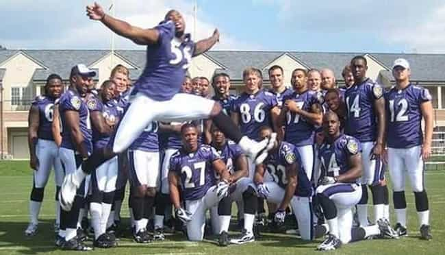 To Photobomb the Ravens Neverm... is listed (or ranked) 3 on the list The 20 Funniest Team Photos In Sports History