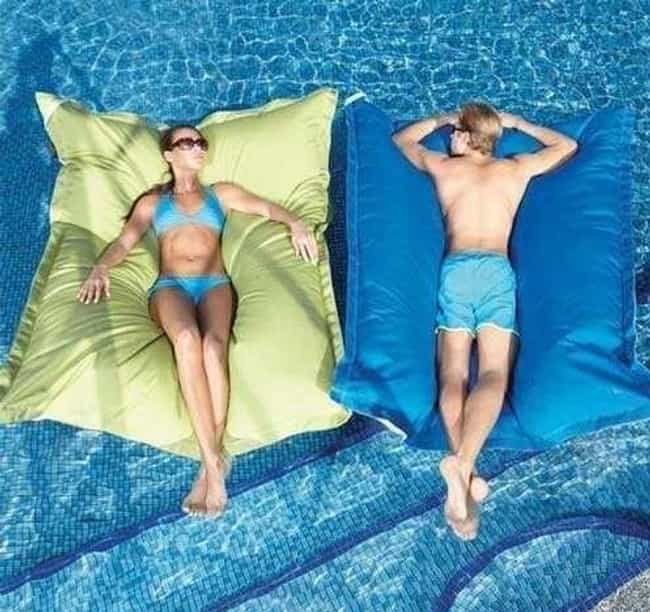 Too Pool for School is listed (or ranked) 2 on the list The 20 Greatest Pillows of All Time