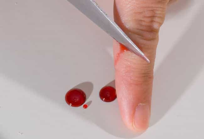 creepy things you didn't know about bleeding to death, Skeleton