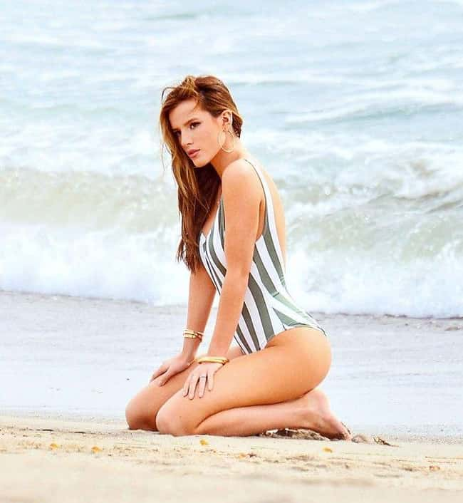 Praise the ocean is listed (or ranked) 16 on the list The 20 Sexiest Bella Thorne Pics