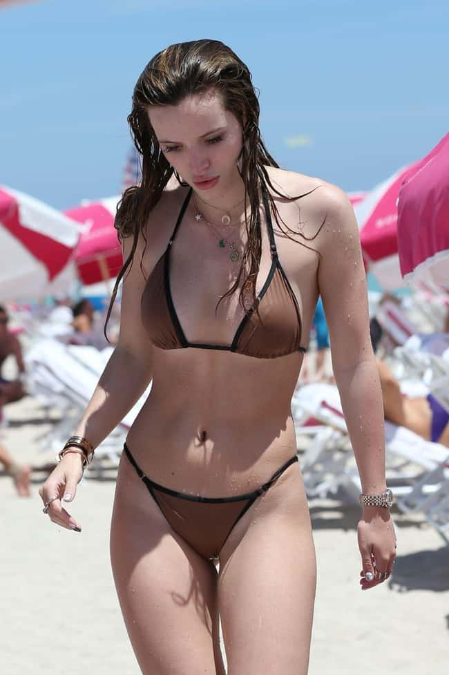 Soak it up is listed (or ranked) 9 on the list The 20 Sexiest Bella Thorne Pics