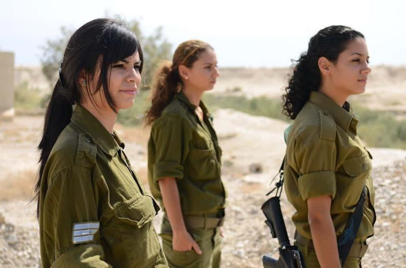 Women Are Allowed in All Posit is listed (or ranked) 2 on the list Weird Israeli Military Rules