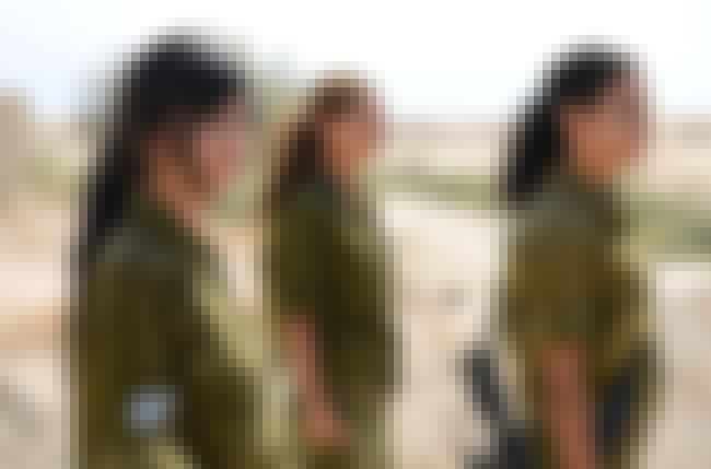Women Are Allowed in All Posit... is listed (or ranked) 2 on the list Weird Israeli Military Rules
