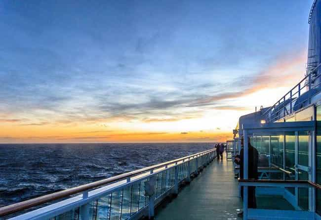 The Hardest Part Is Surviving ... is listed (or ranked) 2 on the list Weird Things You Didn't Know About Falling From A Cruise Ship