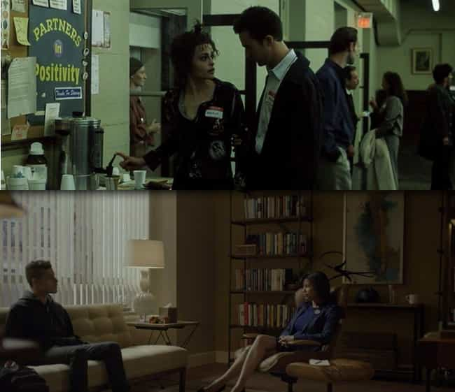 """Elliot and """"Jack"""" Both... is listed (or ranked) 3 on the list 12 Reasons Why Mr. Robot Is Fight Club for Millennials"""
