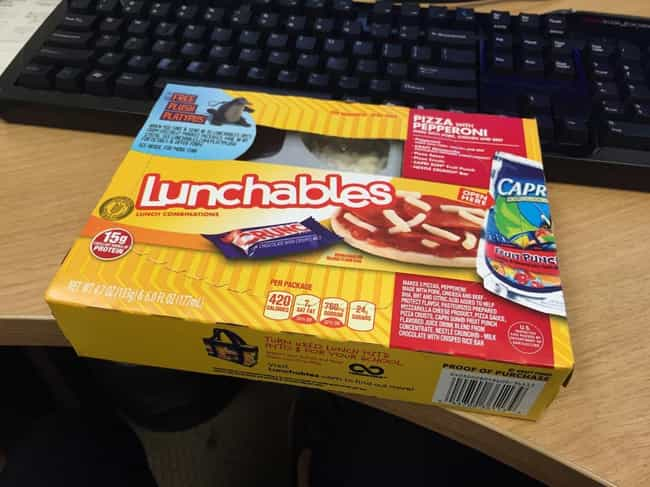 There Were Some Silly Names fo... is listed (or ranked) 3 on the list Processed Facts You Didn't Know About Lunchables
