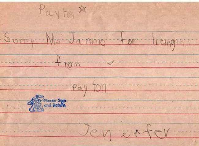 18 Fake School Excuse Notes That Would Never Work