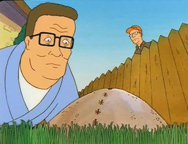 Fire Ants Murdered L. Ron Hubb... is listed (or ranked) 4 on the list Dale Gribble's Craziest Conspiracy Theories on King of the Hill