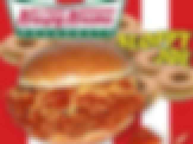 Krispy Kreme's Sloppy Joe is listed (or ranked) 4 on the list 20 Food Creations That Prove Food Science Has Gone Too Far
