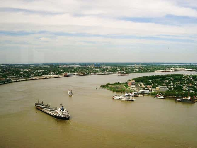 The Mississippi River Ha... is listed (or ranked) 3 on the list Unusual Stories And Legends About The Mississippi River