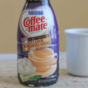 Italian Sweet Crème Cof is listed (or ranked) 1 on the list The Best Coffee Mate Flavors