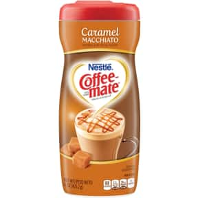 Caramel Macchiato Coffee Mate is listed (or ranked) 4 on the list The Best Coffee Mate Flavors
