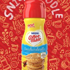 NESTLÉ® TOLL HOUSE& is listed (or ranked) 18 on the list The Best Coffee Mate Flavors