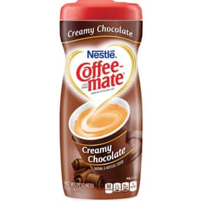 Creamy Chocolate Coffee Mate is listed (or ranked) 20 on the list The Best Coffee Mate Flavors
