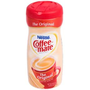Original Coffee Mate is listed (or ranked) 25 on the list The Best Coffee Mate Flavors