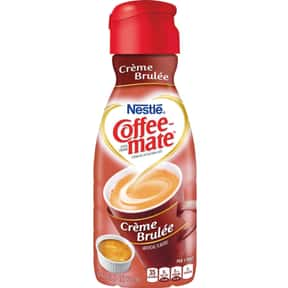 Crème Brulée Coffee Mate is listed (or ranked) 9 on the list The Best Coffee Mate Flavors