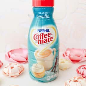 Classic Vanilla Coffee Mate is listed (or ranked) 11 on the list The Best Coffee Mate Flavors