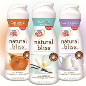 natural bliss® Cinnamon Cr is listed (or ranked) 23 on the list The Best Coffee Mate Flavors