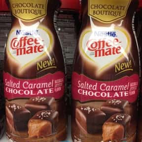 Salted Caramel Chocolate Coffe is listed (or ranked) 12 on the list The Best Coffee Mate Flavors