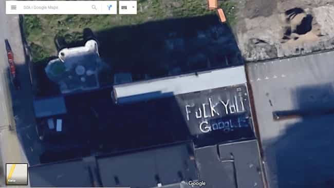 Sticking It to the Man is listed (or ranked) 1 on the list The Funniest Moments in Google Maps History