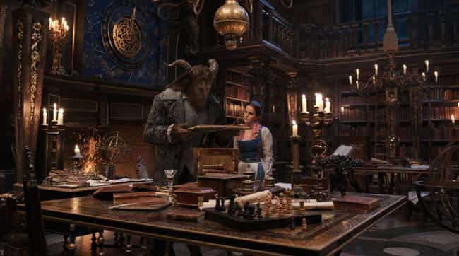 The Beast's Library - Beau... is listed (or ranked) 2 on the list The Best Fictional Libraries In Pop Culture