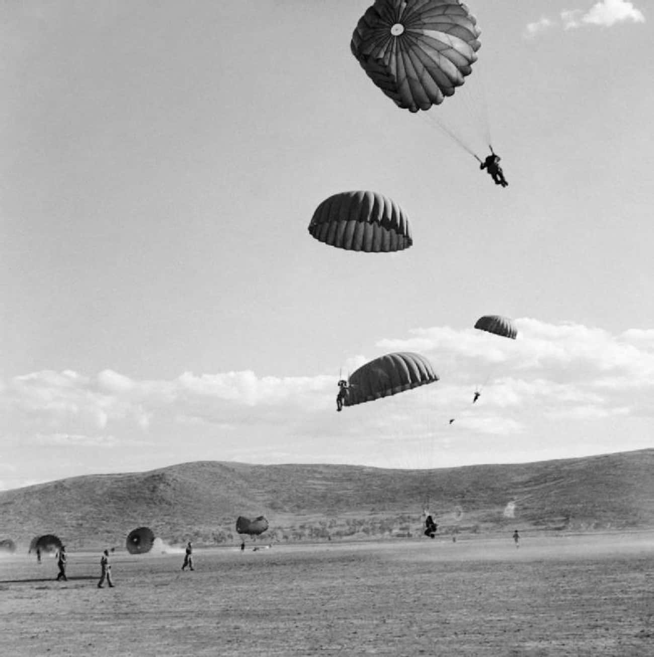 D-Day Paratroopers Scattered All Over The Beaches