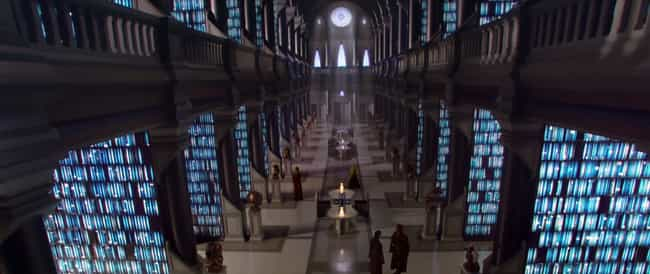The Jedi Archives - Star Wars ... is listed (or ranked) 4 on the list The Best Fictional Libraries In Pop Culture