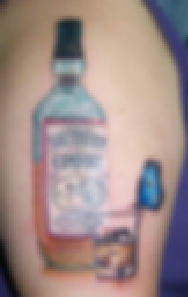 Southern Discomfort is listed (or ranked) 3 on the list 24 People Who Got Alcohol Logo Tattoos for Some Reason