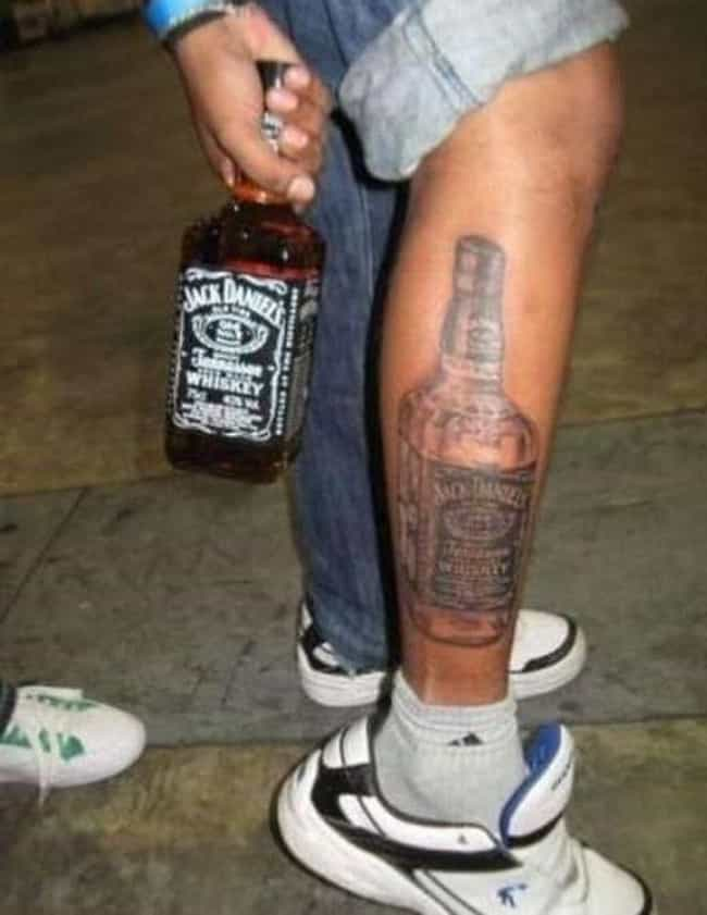 Twins! is listed (or ranked) 2 on the list 24 People Who Got Alcohol Logo Tattoos for Some Reason