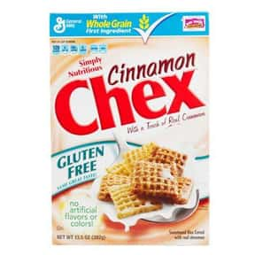 Cinnamon Chex is listed (or ranked) 2 on the list The Best Chex Flavors