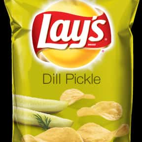 Lay's Dill Pickle Potato C is listed (or ranked) 10 on the list The Best Lay's Chip Flavors