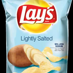 Lay's Lightly Salted Potat is listed (or ranked) 15 on the list The Best Lay's Chip Flavors