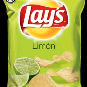 Lay's Limón Potato Chips is listed (or ranked) 17 on the list The Best Lay's Chip Flavors